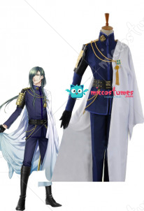 Touken Ranbu Nikkari Aoe Cosplay Military Uniform